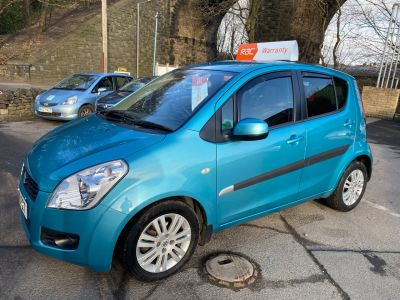 Suzuki Splash 1.2 SZ4 5dr Auto Hatchback Petrol Turquoise at R & J Car Sales Limited	 Halifax