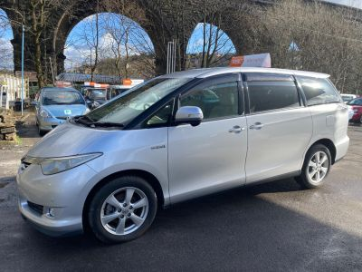 Toyota Estima 2.4 MPV Petrol / Electric Hybrid Silver at R & J Car Sales Limited	 Halifax