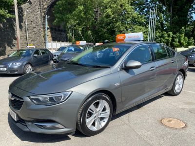 Vauxhall Insignia 1.6 Turbo D ecoTec Tech Line Nav 5dr Hatchback Diesel Grey at R & J Car Sales Limited	 Halifax
