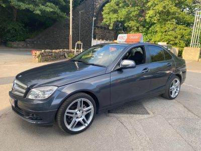 Mercedes-Benz C Class 2.1 C200 CDI SE 4dr Auto Saloon Diesel Grey at R & J Car Sales Limited	 Halifax
