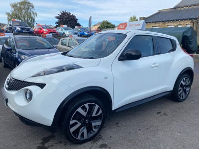 Nissan Juke 1.5 dCi N-Tec 5dr [Start Stop] Hatchback Diesel White at R & J Car Sales Limited	 Halifax
