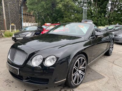Bentley Continental GTC 6.0 W12 2dr Auto Convertible Petrol Black at R & J Car Sales Limited	 Halifax