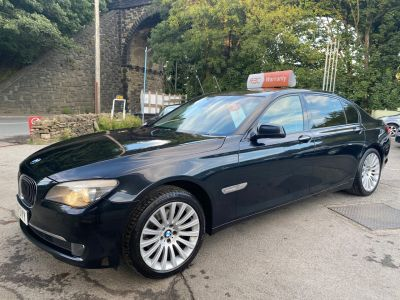 BMW 7 Series 3.0 730Ld SE 4dr Auto Saloon Diesel Black at R & J Car Sales Limited	 Halifax