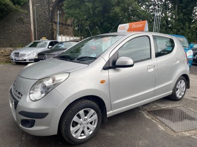 Suzuki Alto 1.0 SZ4 5dr Hatchback Petrol Silver at R & J Car Sales Limited	 Halifax