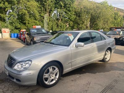 Mercedes-Benz S Class 3.2 S320 CDi 4dr Auto Saloon Diesel Silver at R & J Car Sales Limited	 Halifax