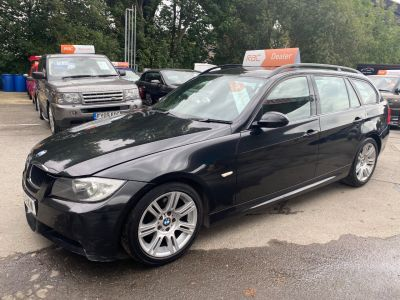BMW 3 Series 2.0 320d M Sport 5dr Auto Estate Diesel Black at R & J Car Sales Limited	 Halifax