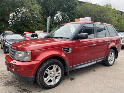 Land Rover Range Rover Sport 2.7 TDV6 SE 5dr Auto Estate Diesel Red at R & J Car Sales Limited	 Halifax