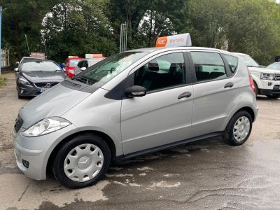 Mercedes-Benz A Class 1.5 A150 Classic SE 5dr Tip Auto Hatchback Petrol Silver at R & J Car Sales Limited	 Halifax