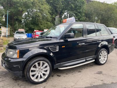 Land Rover Range Rover Sport 2.7 TDV6 HSE 5dr Auto Estate Diesel Black at R & J Car Sales Limited	 Halifax
