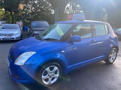 Suzuki Swift 1.5 GLX 5dr Auto Hatchback Petrol Blue at R & J Car Sales Limited	 Halifax