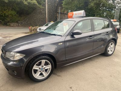 BMW 1 Series 2.0 120d SE 5dr Step Auto Hatchback Diesel Grey at R & J Car Sales Limited	 Halifax