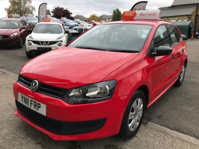 Volkswagen Polo 1.2 70 S 5dr [AC] Hatchback Petrol Red at R & J Car Sales Limited	 Halifax