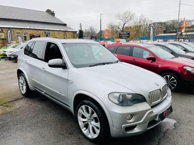 BMW X5 3.0sd M Sport 5dr Auto Estate Diesel Silver at R & J Car Sales Limited	 Halifax