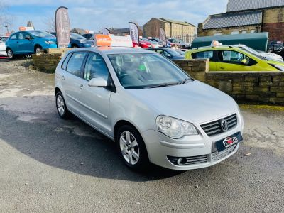 Volkswagen Polo 1.4 Match 80 5dr Hatchback Petrol Silver at R & J Car Sales Limited	 Halifax
