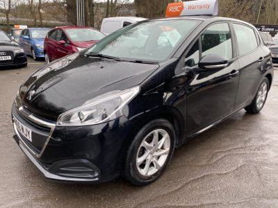 Peugeot 208 1.2 PureTech 82 Active 5dr Hatchback Petrol Black at R & J Car Sales Limited	 Halifax
