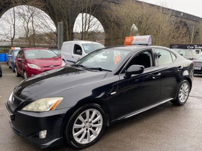 Lexus IS 2.4 250 SR 4dr Auto Saloon Petrol Black at R & J Car Sales Limited	 Halifax