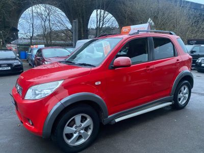 Daihatsu Terios 1.5 SX 5dr Hatchback Petrol Red at R & J Car Sales Limited	 Halifax