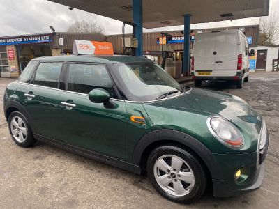 Mini Hatchback 1.5 Cooper D 5dr Hatchback Diesel Green at R & J Car Sales Limited	 Halifax