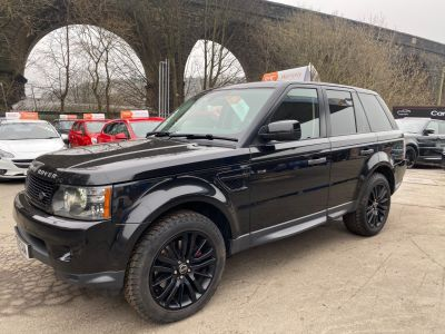 Land Rover Range Rover Sport 3.6 TDV8 HSE 5dr Auto Estate Diesel Black at R & J Car Sales Limited	 Halifax