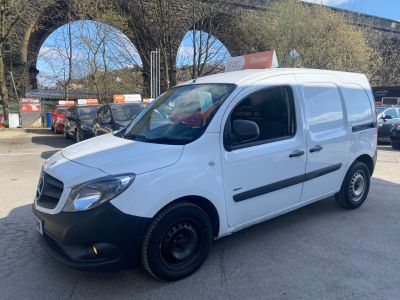 Mercedes-benz Citan 1.5 CITAN 109 CDI BLUEEFFICIE Panel Van Diesel White at R & J Car Sales Limited	 Halifax