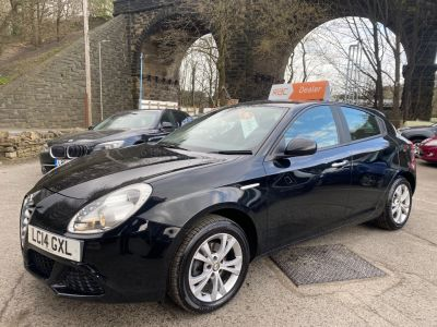 Alfa Romeo Giulietta 1.4 TB Progression 5dr Hatchback Petrol Black at R & J Car Sales Limited	 Halifax