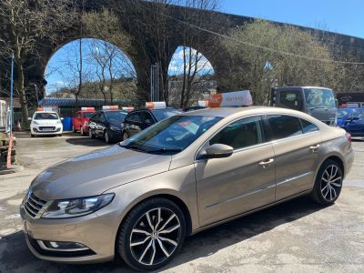 Volkswagen Cc 2.0 TDI 150 BlueMotion Tech GT 4dr DSG Coupe Diesel Gold at R & J Car Sales Limited	 Halifax