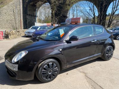 Alfa Romeo Mito 1.4 TB Turismo 3dr Hatchback Petrol Black at R & J Car Sales Limited	 Halifax