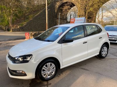 Volkswagen Polo 1.0 S 5dr Hatchback Petrol White at R & J Car Sales Limited	 Halifax