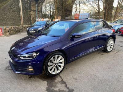 Volkswagen Scirocco 2.0 TSI 180 BlueMotion Tech GT 3dr DSG Coupe Petrol Mauve/purple at R & J Car Sales Limited	 Halifax