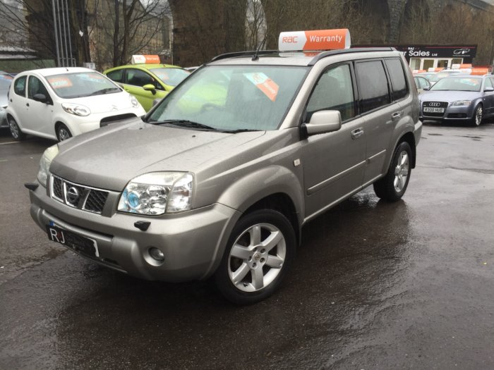 used nissan x trail 2 2 dci 136 aventura 5dr for sale in halifax west yorkshire r j car. Black Bedroom Furniture Sets. Home Design Ideas