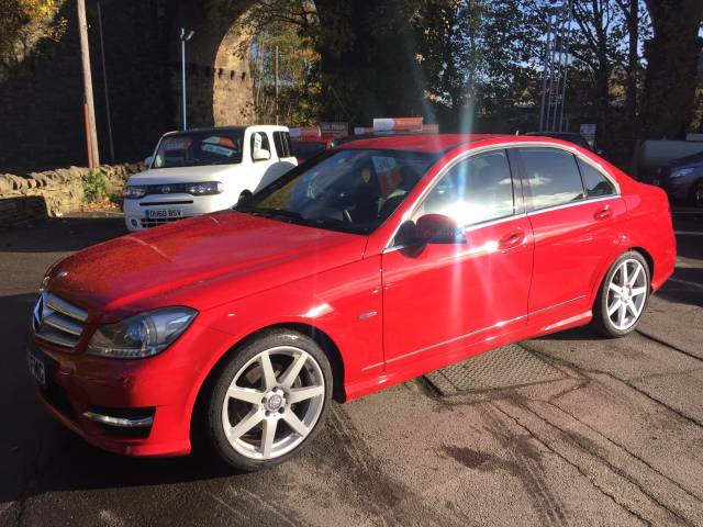 2012 Mercedes-Benz C Class 2.1 C220 CDI BlueEFFICIENCY Sport 4dr Auto