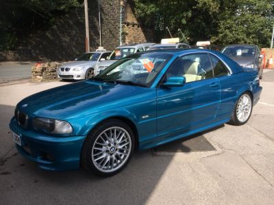 BMW 3 Series 3.0 330 Ci Sport 2dr Auto Convertible Petrol Blue at R & J Car Sales Limited	 Halifax