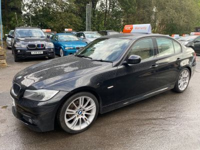 BMW 3 Series 2.0 320i M Sport Business Edition 4dr Saloon Petrol Black at R & J Car Sales Limited	 Halifax