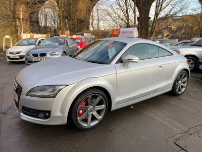 Audi TT 3.2 V6 Quattro 2dr S Tronic Coupe Petrol Silver at R & J Car Sales Limited	 Halifax
