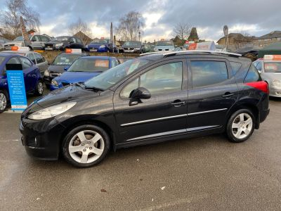 Peugeot 207 SW 1.6 207 SPORT SW AUTO Estate Petrol Black at R & J Car Sales Limited	 Halifax