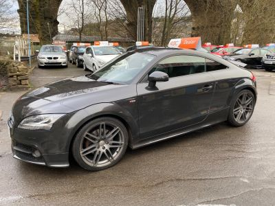Audi TT 2.0T FSI Black Edition 2dr S Tronic Coupe Petrol Grey at R & J Car Sales Limited	 Halifax